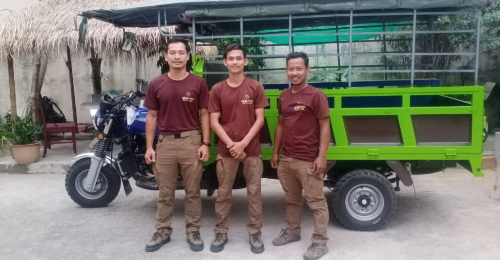 Pestlab Exterminator team in Phnom Penh at your service for pest management